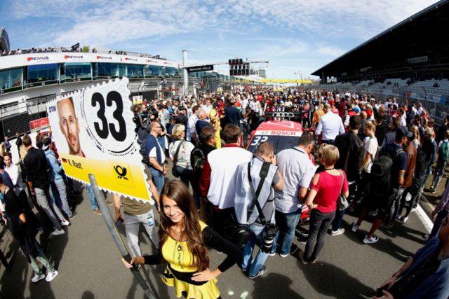 DTM Spielberg Startaufstellung für DTM Fans offen © DTM