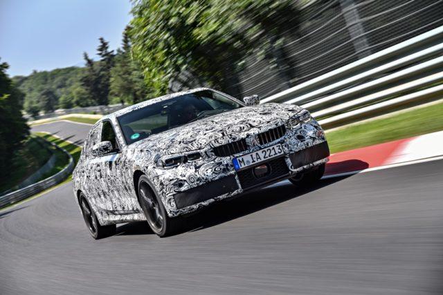 Der neue BMW 3er Erprobung am Nürburgring © BMW AG