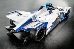 Der neue BMW iFE.18 Heckansicht für die ABB FIA Formel E © BMW Motorsport