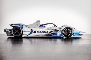 Der neue BMW iFE.18 Seitenansicht für die ABB FIA Formel E © BMW Motorsport