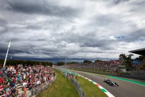 Formel 1 - Mercedes-AMG Petronas Motorsport, Großer Preis von Italien 2018. Valtteri Bottas ©  Mercedes-AMG Petronas Motorsport