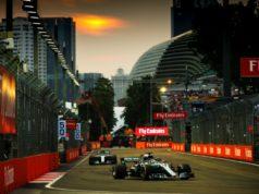 Formel 1 Qualifying zum GP von Singapur Formel 1 - Mercedes-AMG Petronas Motorsport, Großer Preis von Singapur 2018. Lewis Hamilton © Mercedes AMG Petronas Motorsport