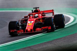 Formel 1 Monza 2018 Sebastian Vettel. &coppy; Scuderia Ferrari