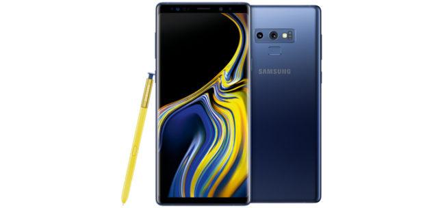 Samsung Galaxy Note9 OceanBlue © Samsung