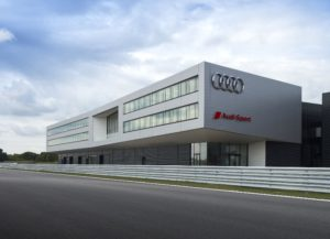 Kompetenz-Center Motorsport von Audi in Neuburg © Audi AG