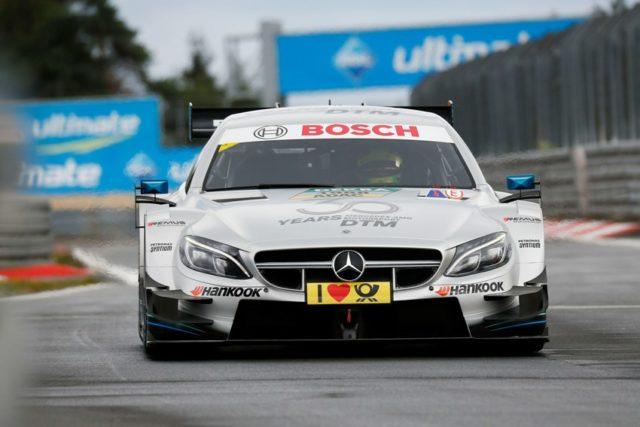 Mick Schumacher im Mercedes-AMG C 63 DTM-Renntaxi © DTM