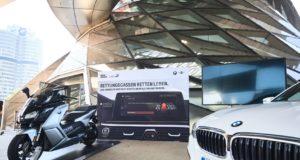 Neues Sicherheits-Feature für BMW PKW und Motorrad Live-Hinweis zur Bildung einer Rettungsgasse.© BMW AG