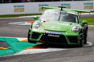 Porsche 911 GT3 Cup, Mattia Drudi (I), Porsche Mobil 1 Supercup, Monza 2018 © Porsche Motorsport