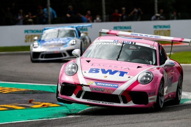 Porsche Mobil 1 Supercup Ammermüller Fährt In Monza Auf Pole