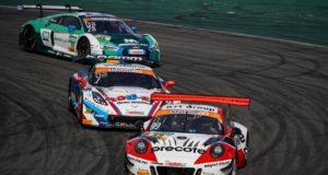 Porsche 911 GT3 R, Precote Herberth Motorsport, Robert Renauer (D), Mathieu Jaminet (F), Hockenheimring 2018 © Porsche Motorsport