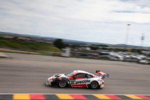 Porsche 911 GT3 R, Precote Herberth Motorsport, Robert Renauer (D), Mathieu Jaminet (F), Sachsenring 2018 © Porsche Motorsport