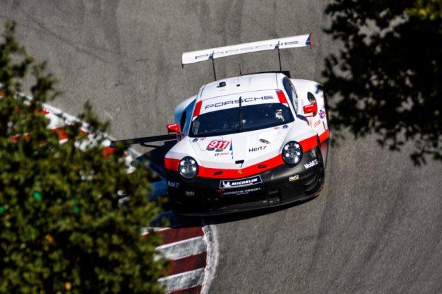 Porsche 911 RSR (911), Porsche GT Team Patrick Pilet, Nick Tandy Laguna Seca © Porsche Motorsport