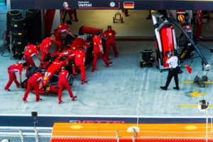 Sebastian Vettel GP Russland © Scuderia Ferrari