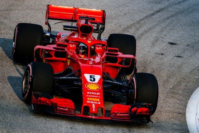 Sebastian Vettel Singapur GP 2018 Formel 1 © Scuderia Ferrari