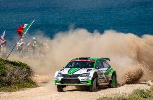 SKODA bei der Rallye Türkei Marmaris 2018: Die amtierenden WRC 2-Champions Pontus Tidemand/Jonas Andersson (ŠKODA FABIA R5) wollen die Titelverteidigung mit einem Top-Resultat bei der Rallye Türkei Marmaris auf Kurs bringen © Skoda Motorsport
