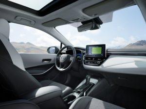 Toyota Corolla Hybrid Touring Sports Innenraum © Toyota