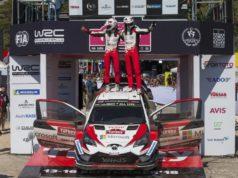 Toyota Gazoo Racing bei der Rallye Türkei Doppelsieg © Toyota Motorsport