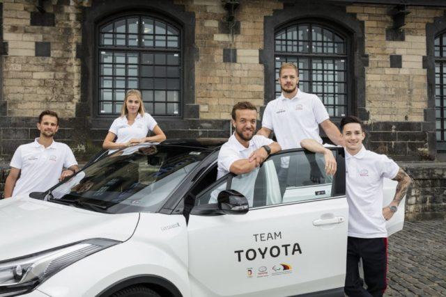Toyota Team Sportler Koeln © Toyota