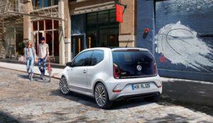 VW up mit R-Line Exterieur Paket Heckansicht © Volkswagen AG