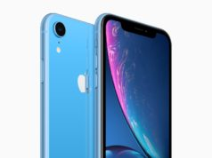 Apple iPhone XR blau schwarz © Apple
