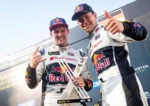 Rallycross-WM 2018, Estering Andreas Bakkerud, Mattias Ekström © EKS Audi Sport