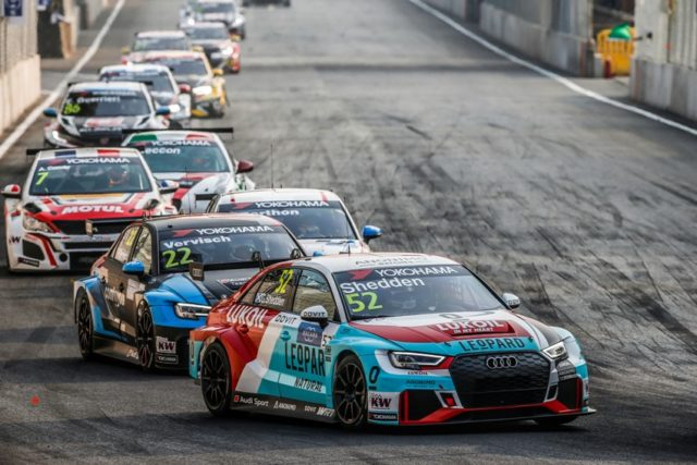 WTCR – FIA World Touring Car Cup 2018 Audi RS 3 LMS #52 (Audi Sport Leopard Lukoil Team), Gordon Shedden © awtcr.com/DPPI