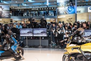 BMW Motorrad auf der EICMA 2018 © BMW AG