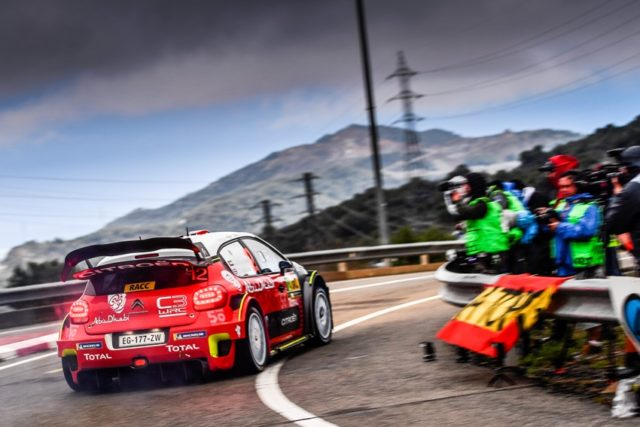 Citroen C3 WC Rallye Spanien © Citroen Motorsport