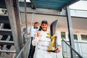DTM, 2018, Hockenheim II. Mercedes-AMG Motorsport DTM Team, DTM, Gary Paffett, Mercedes-AMG C 63 DTM DTM Champion 2018 © Mercedes AMG Motorsport