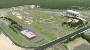 Die Gesamtfläche des Porsche Experience Center Hockenheimring umfasst 160.000 Quadratmeter © Porsche