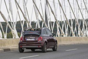 Fiat 500 Collezione Heckansicht © Fiat