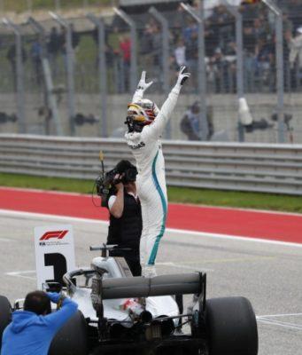 Formel 1 - Mercedes-AMG Petronas Motorsport, Großer Preis der USA 2018. Lewis Hamilton & copy; Mercedes-AMG Petronas Motorsport