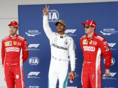 Formel 1 - Mercedes-AMG Petronas Motorsport, Großer Preis der USA 2018. Sebastian Lewis Hamilton Kimi Raikkönen © Mercedes-AMG Petronas Motorsport