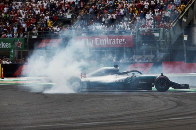 Formel 1 - Mercedes-AMG Petronas Motorsport, Großer Preis von Mexiko 2018. Lewis Hamilton F1 Weltmeister 2018 © Mercedes AMG Petronas Motorsport