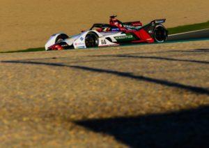 Formel E Test, Valencia Audi e-tron FE05 #66 (Audi Sport ABT Schaeffler), Daniel Abt © Audi Communications Motorsport / Michael Kunkel