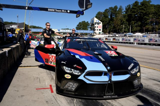 IMSA l Petit Le Mans, Road Atlanta, Braselton, GA (USA). Jesse Krohn (FIN), John Edwards (USA), Chas Mostert (AUS), No 24, BMW Team RLL, BMW M8 GTE © BMW Motorsport