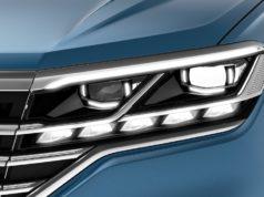 IQ.Light – LED-Matrixscheinwerfer (interaktiv per Kamera gesteuertes Abblend- und Fernlicht) © Volkswagen AG