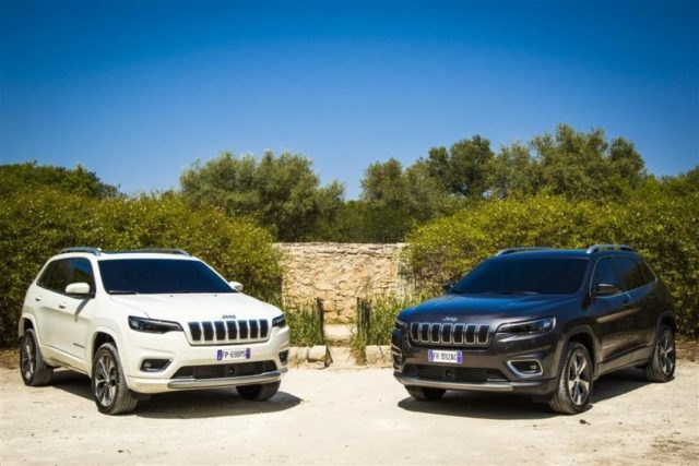Jeep Cherokee MJ 2019 © Jeep