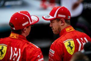 Kimi Raikkönen Sebastian Vettel GP USA 2018 © Scuderia Ferrari