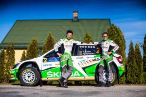 Die amtierenden Deutschen Meister überzeugten beim Highspeed-Festival in Lettland mit Topzeiten. © Skoda Motorsport
