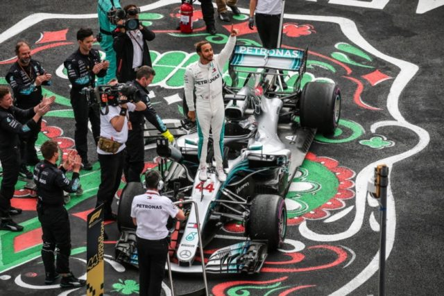 Lewis Hamilton Formel 1 Weltmeister 2018 © Mercedes AMG Petronas Motorsport