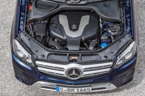 Mercedes-Benz GLS 350 d 4MATIC 6-Zylinder Dieselmotor, 258 PS, 620 Nm © Daimler AG