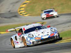 Porsche 911 RSR (911), Porsche GT Team: Patrick Pilet, Nick Tandy, Frederic Makowiecki © Porsche Motorsport