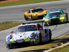 Porsche 911 RSR (912), Porsche GT Team: Earl Bamber, Mathieu Jaminet, Laurens Vanthoor © Porsche Motorsport