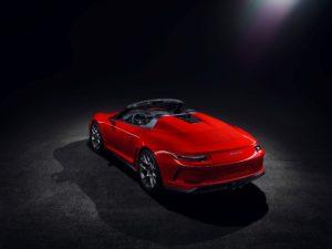 Porsche Speedster 2018 Concept Heckansicht © Porsche