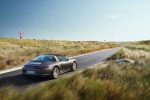 Porsche 911 Targa 4 GTS Exclusive Edition Heckansicht © Porsche