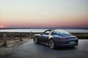 Porsche 911 Targa 4 GTS Exclusive Edition Seitenansicht © Porsche