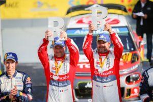 Sébastien Loeb und Beifahrer Daniel Elena © Citroen Motorsport