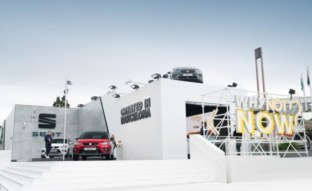 SEAT eröffnet Pop-up-Stores in Paris und stellt seine neuesten Modell vor © Seat