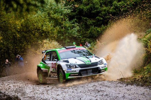 Skoda bei der Rallye Grossbritannien © Skoda Motorsport